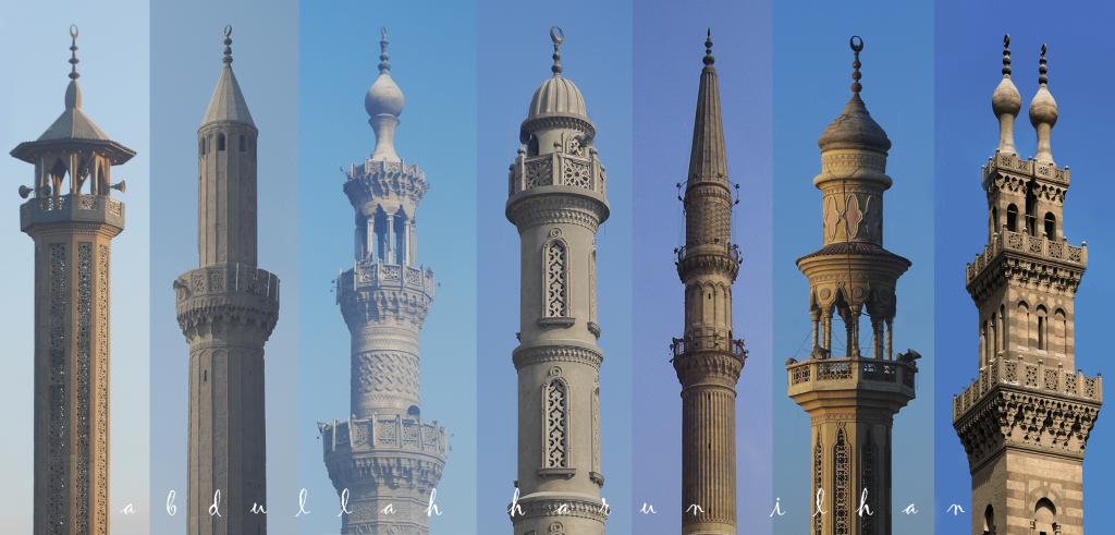 Minarets of Cairo by Abdullah Harun İlhan